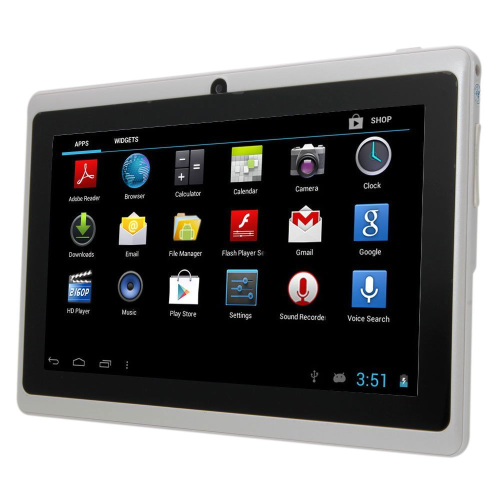 Fasttouch tm white 7 inch a13 google android allwinner tablet pc